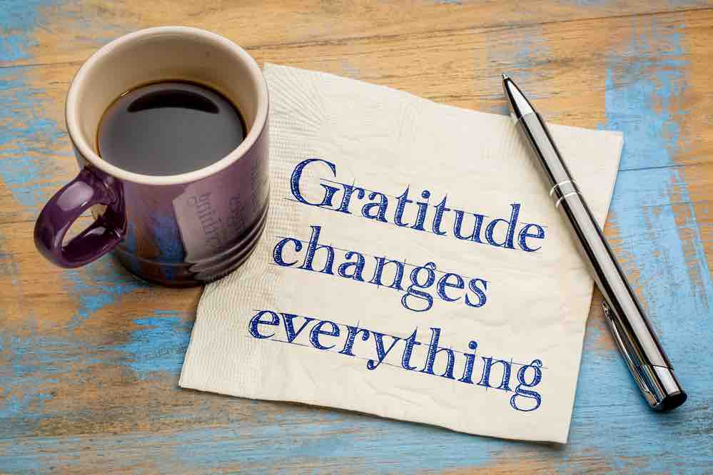 gratitude weight loss